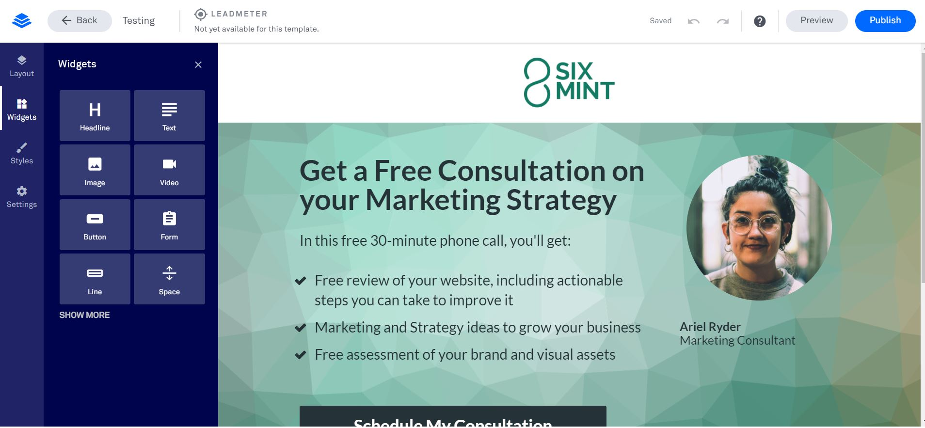 LeadPages   Kopf Consulting