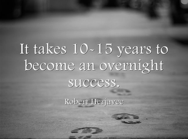Success Doesn't Happen Overnight | Kopf Consulting